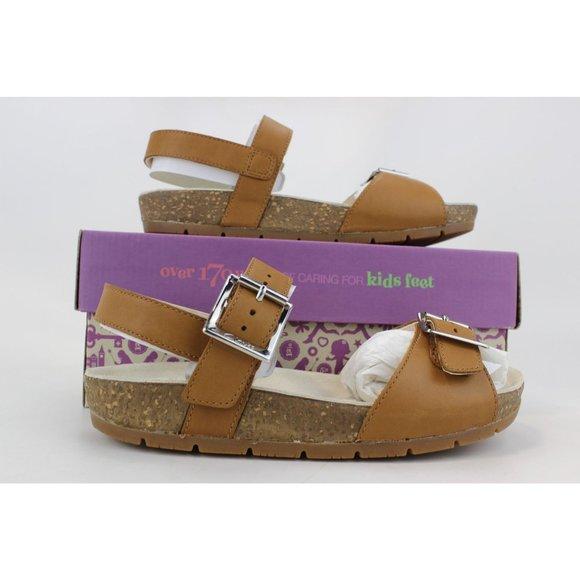 Kid's Volkinicon JNR Tan Leather 26105850
